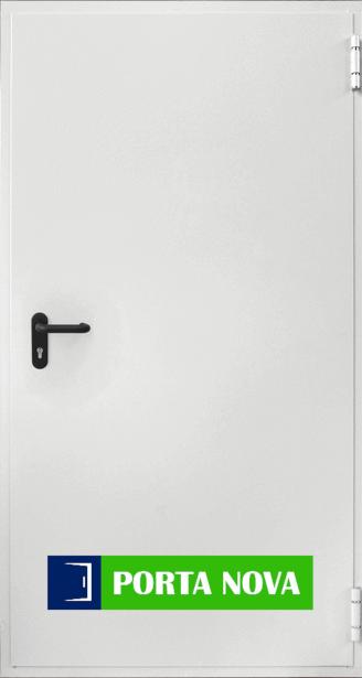 Пожароустойчива врата, бяла
